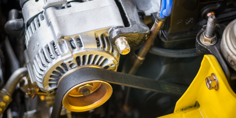 auto repair process that entails replacing the alternator