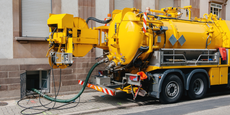 Septic services such as replacement cost
