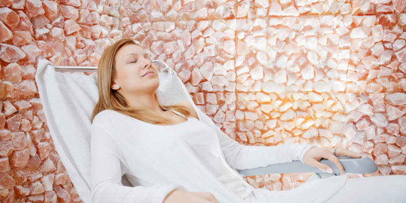 Salt therapy has been promoted as a useful therapeutic solution