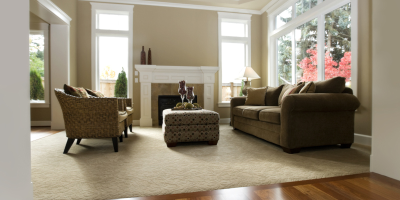 process of buying carpet to install in your new home