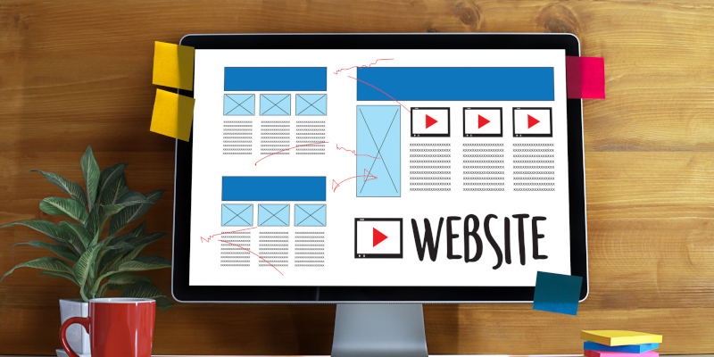 A great website design includes great content on the site