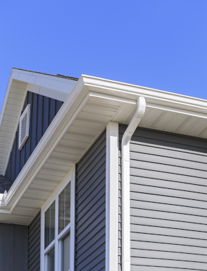 your gutters & siding serve one of the same purposes as your roof