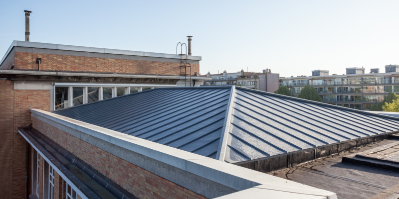 Metal roofs are much better at withstanding extreme winds