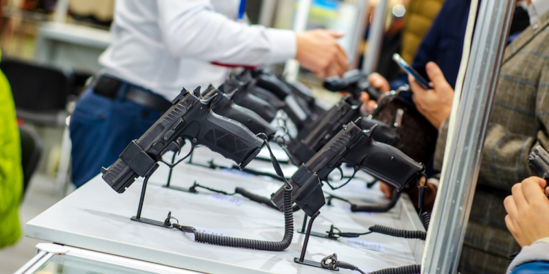a trip to the gun store can also be very intimidating