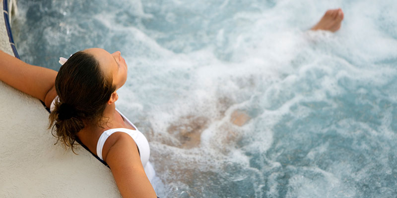 Swim Spas Offer You the Spa Experience Plus Hydrotherapy at Home