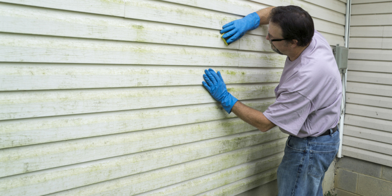 composite material can also be used for siding