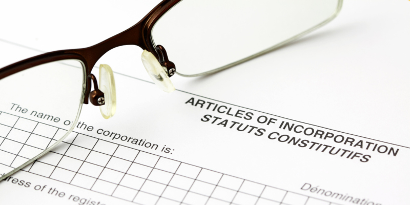 incorporations move ownership or shareholder