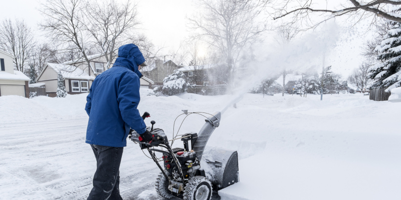 . One of the most popular options for snow removal is using a snowblower