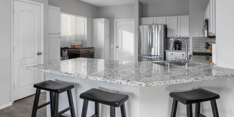 granite countertop is more delicate