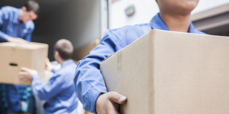 When you hire a moving company and professional movers