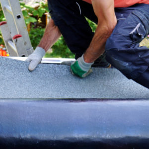 commercial roofing maintenance in the hands of a professional roofing contractor