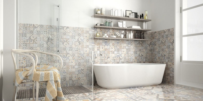 one of the most popular options in bathroom flooring