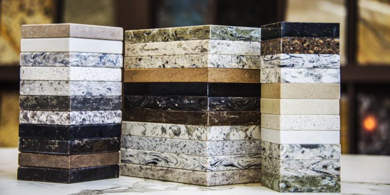 Quartz countertops are very durable