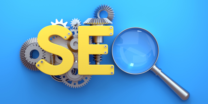 The way to do that is through SEO