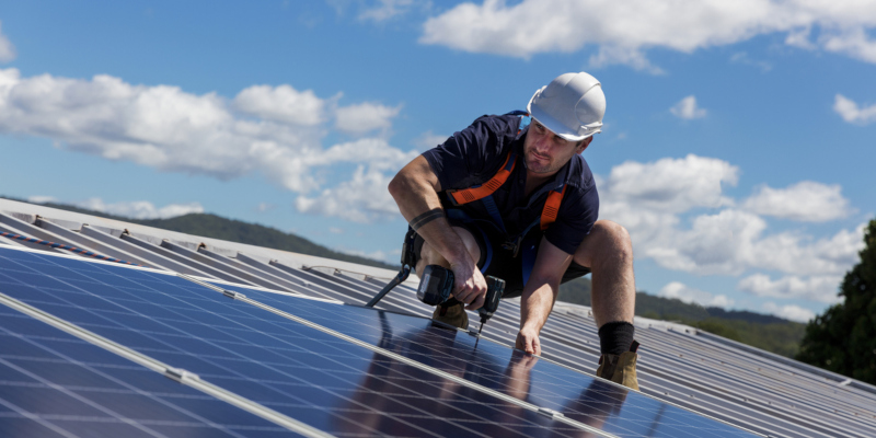 There are countless benefits of solar panel installation