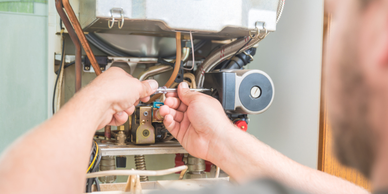 experienced heating services professional